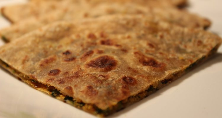 Bharwa Methi Paratha Recipe