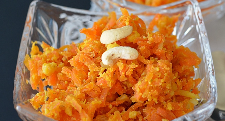 Milky Carrot Sweet Recipe