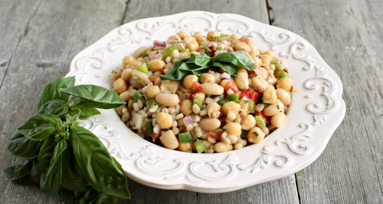 Tuscan Bean Salad Recipe