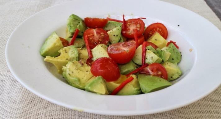 Avocado Salad Recipe – How To Make Avocado Salad