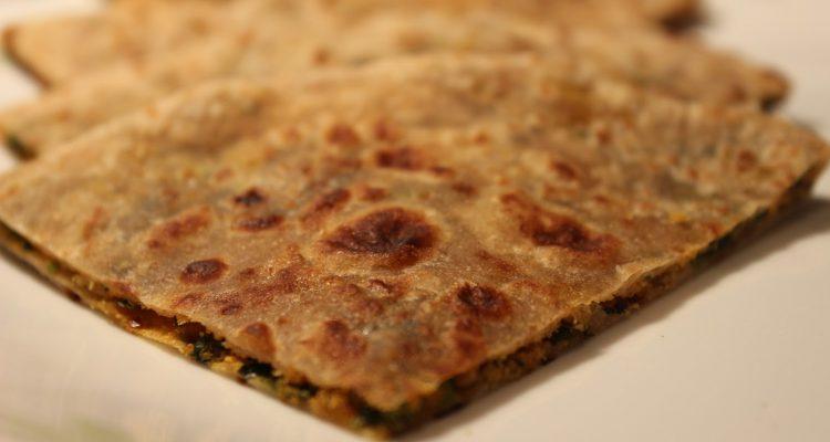 Bharwa Methi Paratha Recipe